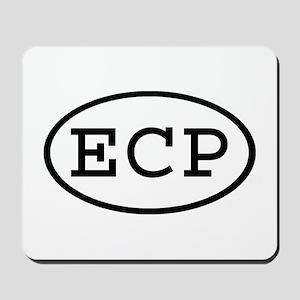 ECP Oval Mousepad