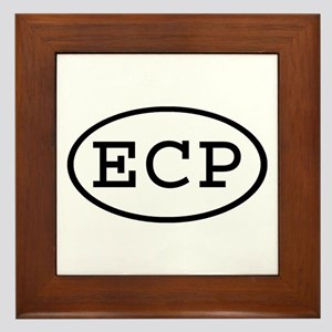 ECP Oval Framed Tile