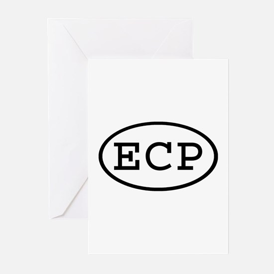 ECP Oval Greeting Cards (Pk of 10)