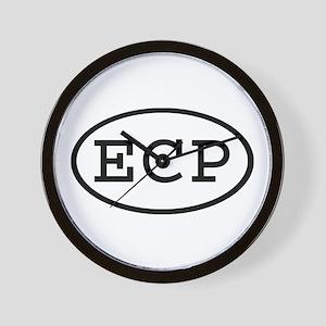ECP Oval Wall Clock