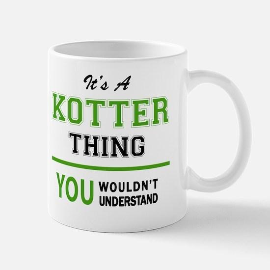 Cute Kotter Mug