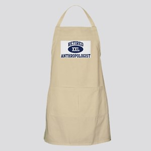 Retired Anthropologist BBQ Apron