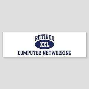 Retired Computer Networking Bumper Sticker
