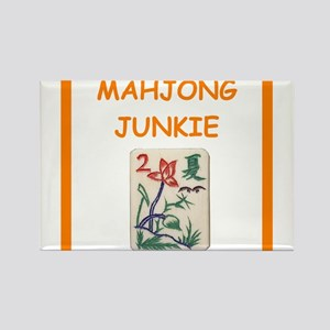 mahjong joke Magnets
