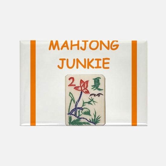 mahjong joke Magnets
