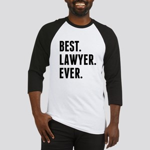 Best Lawyer Ever Baseball Jersey