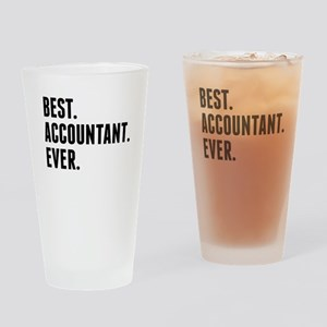 Best Accountant Ever Drinking Glass