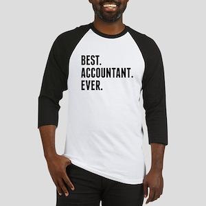 Best Accountant Ever Baseball Jersey