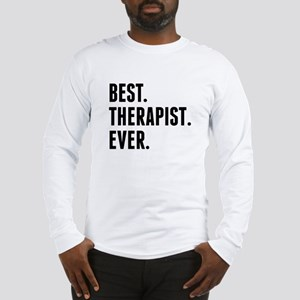 Best Therapist Ever Long Sleeve T-Shirt