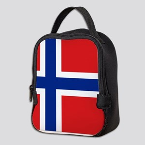 Norway flag Neoprene Lunch Bag