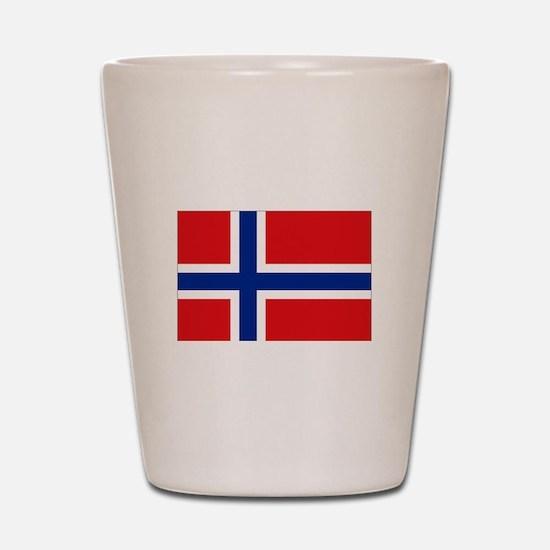 Norway flag Shot Glass