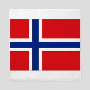 Norway flag Queen Duvet