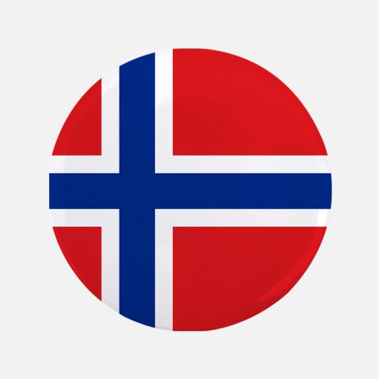 "Norway flag 3.5"" Button"