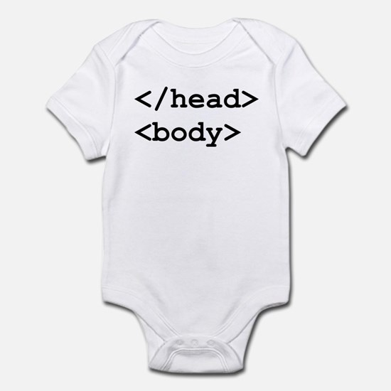 </head> <body> Infant Bodysuit