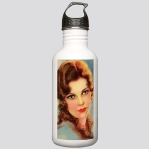 cute vintage girl Stainless Water Bottle 1.0L