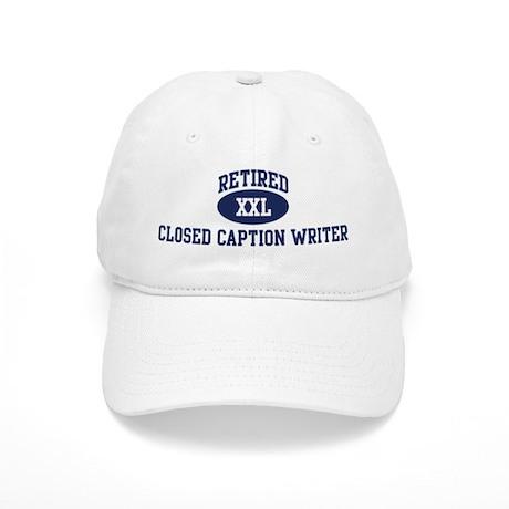 Retired Closed Caption Writer Cap