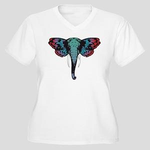Butterphant Plus Size T-Shirt