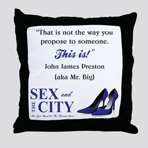 THIS IS! Throw Pillow