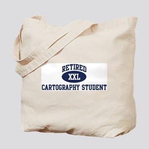 Retired Cartography Student Tote Bag