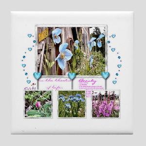 Wildflowers Tile Coaster