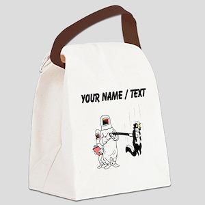 Custom Hazmat Team Canvas Lunch Bag