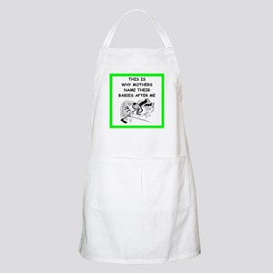 hockey joke Apron