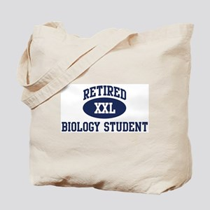 Retired Biology Student Tote Bag