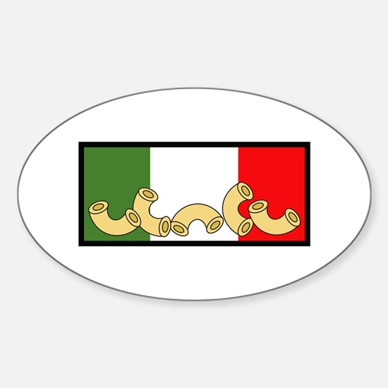 ITALIAN PASTA FLAG Decal