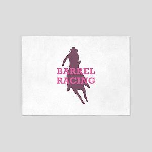 BARREL RACING 5'x7'Area Rug