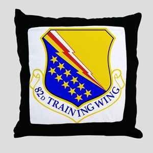 USAF Air Force 82nd Training Wing Shi Throw Pillow