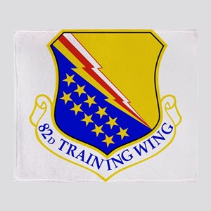 USAF Air Force 82nd Training Wing Sh Throw Blanket