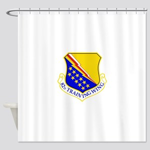 USAF Air Force 82nd Training Wing S Shower Curtain