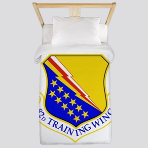 USAF Air Force 82nd Training Wing Shiel Twin Duvet