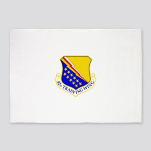 USAF Air Force 82nd Training Wing S 5'x7'Area Rug
