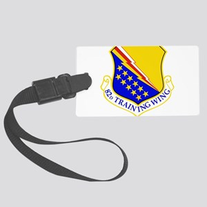 USAF Air Force 82nd Training Win Large Luggage Tag