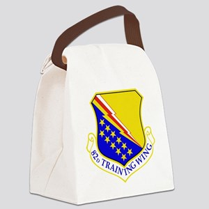 USAF Air Force 82nd Training Wing Canvas Lunch Bag