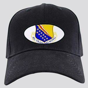 USAF Air Force 82nd Training Wing Shield Black Cap