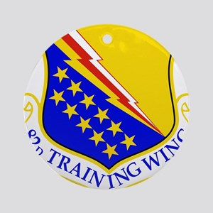 USAF Air Force 82nd Training Wing Ornament (Round)