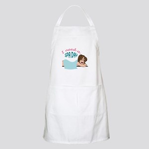 I NEED A SPA DAY Apron