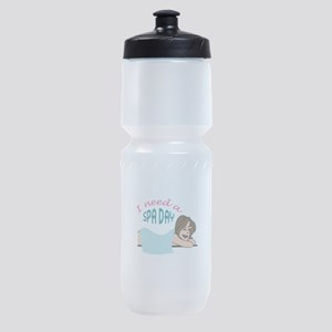 I NEED A SPA DAY Sports Bottle