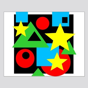Abstract Color Shapes Posters Small Poster