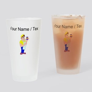 Custom Grocer Drinking Glass