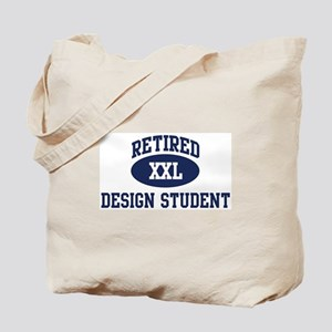 Retired Design Student Tote Bag