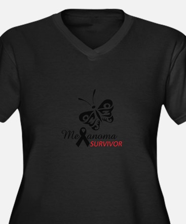 MELANOMA SURVIVOR Plus Size T-Shirt