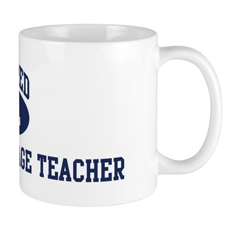 Retired Foreign Language Teac Mug