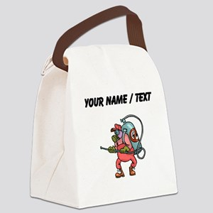 Custom Exterminator Canvas Lunch Bag