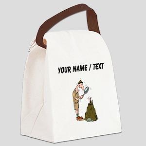 Custom Entomologist Canvas Lunch Bag