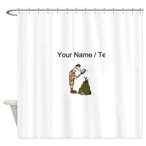 Funny Science And Techonology Jobs Shower Curtains