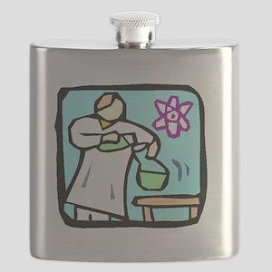 Lab Technician Flask