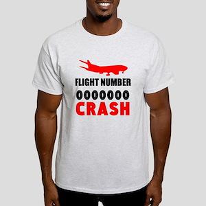 Airplane Flight Number Crash T-Shirt